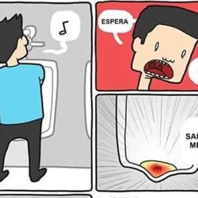 Sangue no meu xixi ?