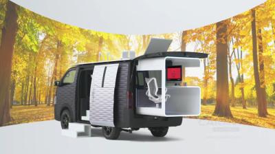 Nissan revela conceito de escritório sobre quatro rodas
