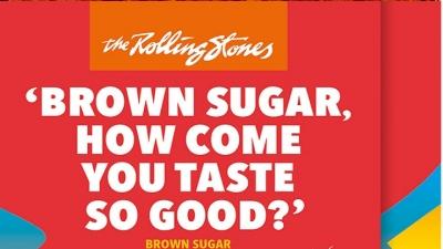 Quer chocolate? Que tal provar o dos Rolling Stones?