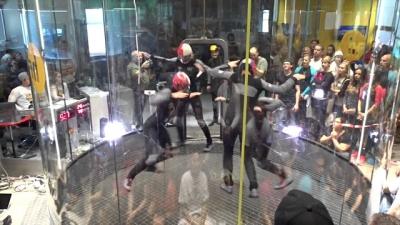 Confira a sessão mais incrível de Indoor Skydiving