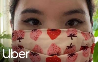 Uber exigirá selfie dos passageiros para comprovar o uso de máscara