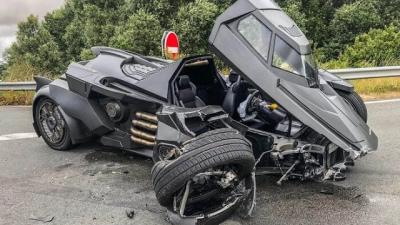 Imagens mostram acidentes que foram muito caros