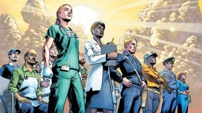 Marvel transforma trabalhadores essenciais em super-heróis em desenho