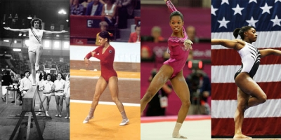 A evolução da ginástica olímpica