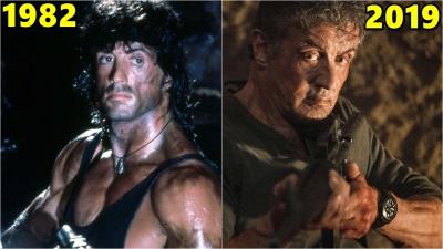 Evolução do Rambo 1982-2019