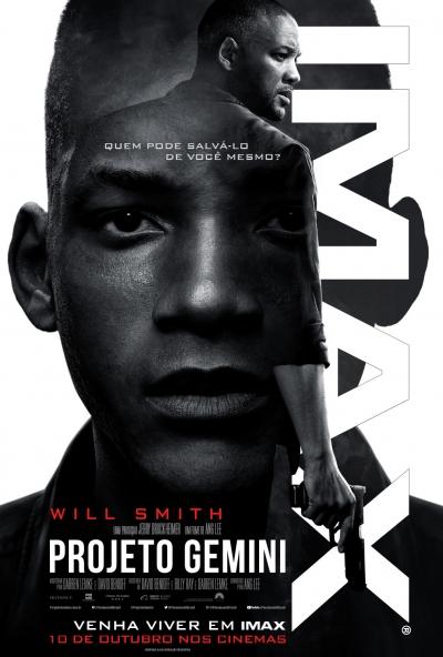 'Projeto Gemini', novo filme de Will Smith ganha cartaz para o Brasil