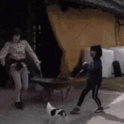 Brincando de pular corda