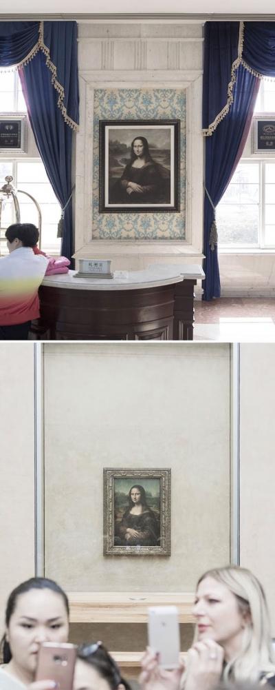 Veja a comparação entre a França e os monumentos que a China copiou