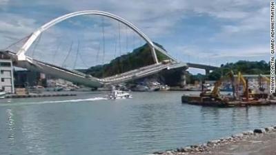 Veja a ponte que caiu em Taiwan nesse vídeo de segurança