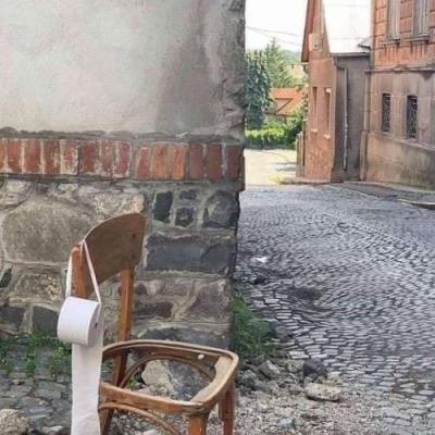 Banheiro na rua