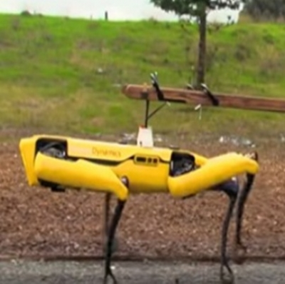 Nova Tecnologia Cão robô da Boston Dynamics