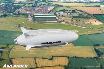 O dirigível pode ser o futuro dos voos regionais, de baixas emissões, no Reino U