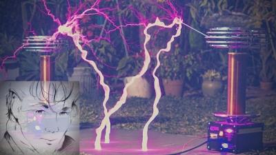 Homem toca Take on Me com bobinas elétricas