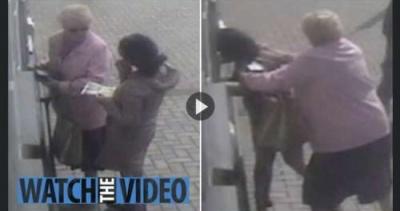 Vídeo: idosa de 81 anos dá surra em assaltante de caixa eletrônico; assista