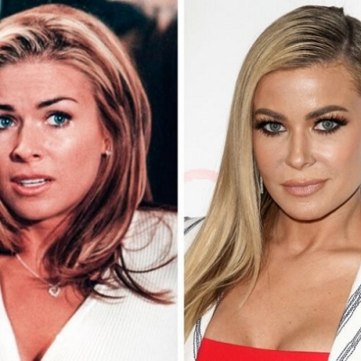 O antes e o depois dos atores de comédia do cinema