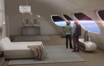 Hotel espacial deve ficar pronto em 2025