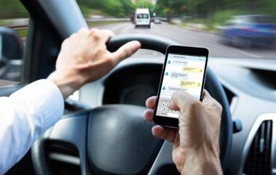 Inteligência Artificial registra motoristas usando celular no trânsito