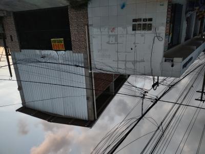 Desaparecimento de postes em Olinda
