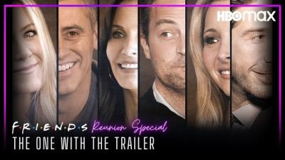 Reunião de Friends ganha seu primeiro trailer