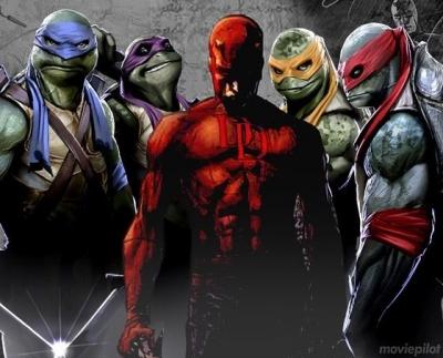 O que o Demolidor e as Tartarugas Ninja tem em comum? Tudo!