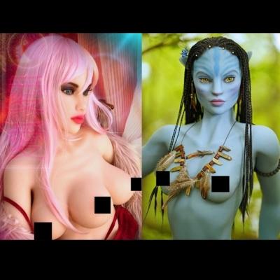 Personagens de ficção científica ganham versão em boneca sexual hiper-realista