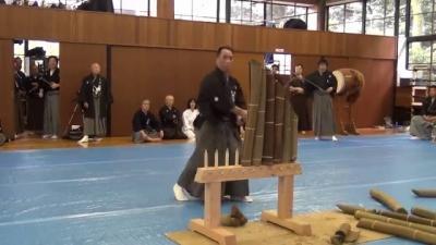 O teste pra ser um samurai não é fácil