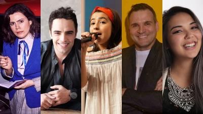 5 covers de artistas do teatro musical brasileiro