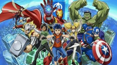 Vingadores vai virar um anime no Disney+
