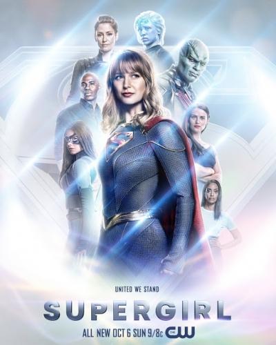 Novo visual de Supergirl é revelado em novo poster