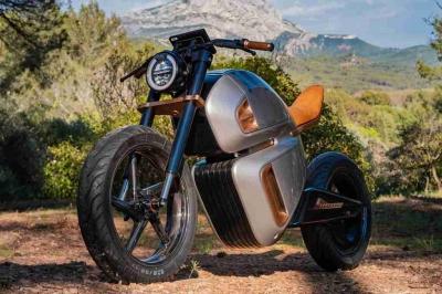 Apresentada a primeira moto elétrica, supercapacitor-híbrida do mundo