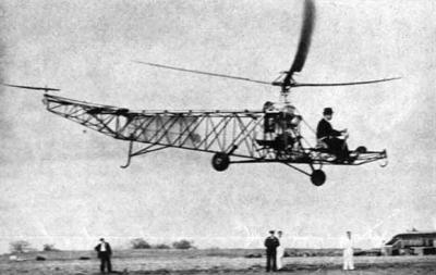 Confira os protótipos do helicóptero nesse vídeo curto