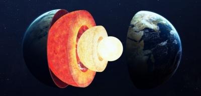 Crescimento desigual do núcleo da Terra intriga cientistas