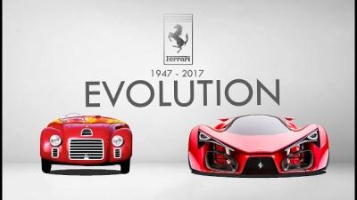 Veja a evolução completa da marca Ferrari