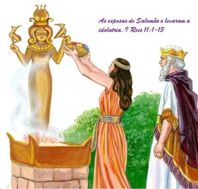 A revolta dos idólatras contra Cristo