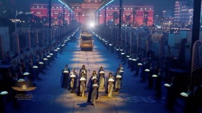 Conheça o incrível desfile de ouro dos Faraós