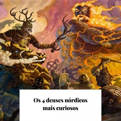 Os 4 deuses nórdicos mais curiosos