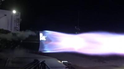 Você já viu um motor de foguete bem de perto?