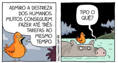 A destreza do ser humano