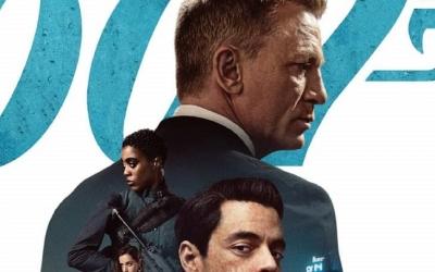 Divulgado o novo cartaz de '007 – Sem Tempo para Morrer'