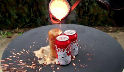 Coca-Cola vs Cobre Derretido