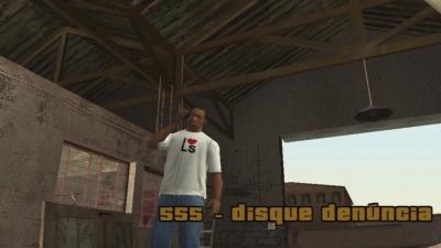 GTA San Andreas #34 555 - disque denúncia