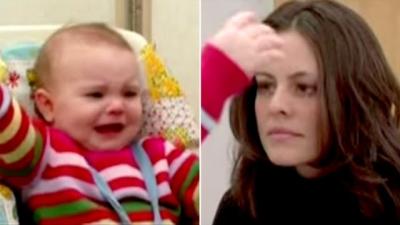 Vídeo prova que bebês reagem as emoções da mãe