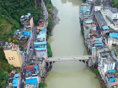 Bem-vindo a Yanjin, a cidade mais estreita do mundo