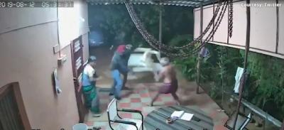 Casal de idosos derrotam ladrões armados na base da porrada