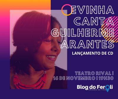 Concorra a ingressos para o show 'Evinha canta Guilherme Arantes '