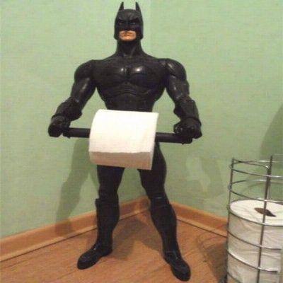 Suportes criativos para o papel higiênico
