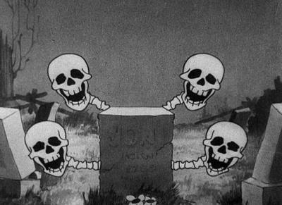 Como era um desenho infantil de terror em 1929