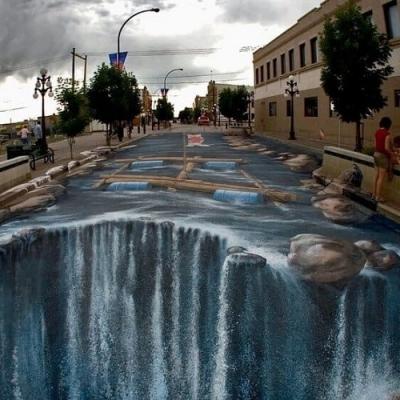Incríveis artes de rua que vão deixar você impressionado