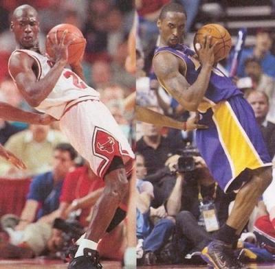 Provando que Kobe Bryant e Michael Jordan são a mesma pessoa