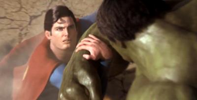 Depois de anos, finalmente saiu Superman vs Hulk